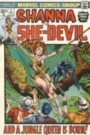 Shanna The She-Devil (1972 Series)